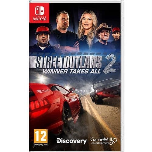 Street Outlaws 2 Winner Takes All Nintendo Switch Game